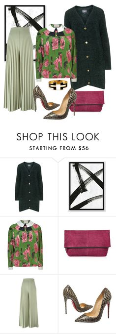 """Toni"" by chelsofly ❤ liked on Polyvore featuring Zizzi, West Elm, Gucci, Topshop, Givenchy, Christian Louboutin and Tory Burch"
