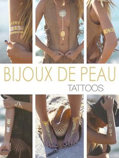 bijou de peau tatouage collier tatoo kit tatouage ephemere, bijou ephemere tattoo temporaire bijoux ephemeres