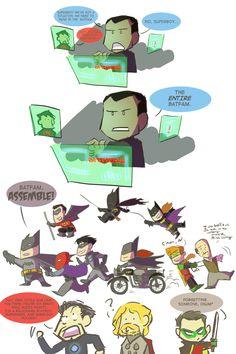 Batfam, ASSEMBLE! by ~ComickerGirl on deviantART