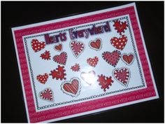 Heart Graphing:  Students count the various hearts and record on recording sheet.