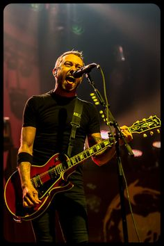 Tim McIlrath- Rise Against ... Such a great role model