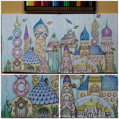 Johanna Basford | Colouring Gallery | By Zuzka (Czech Republic)