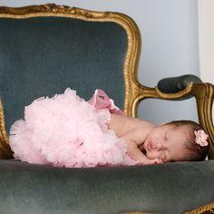 Newborn Pink Pettiskirt @PoshTots