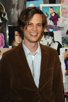 cutie Matthew Gray Gubler at our Spring Issue Launch Party! Dr Reid, Dr Spencer Reid, Criminal Minds, Most Beautiful Man, Beautiful Smile, Matthew 3, Matthew Gray Gubler, Oui Oui, Celebrity Crush