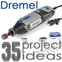 35 Projects Using Your Dremel. got to get one of these first!