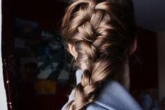 """French plait hairstyle is the most common and easy hairstyle of all. This hairstyle includes the partition of your hairRead More Intricate French Plait Hairstyles"""" French Plait Hairstyles, New Braided Hairstyles, Protective Hairstyles For Natural Hair, Plaits Hairstyles, Easy Hairstyles For Long Hair, Braids For Long Hair, Straight Hairstyles, Natural Hair Styles, Short Hair Styles"""