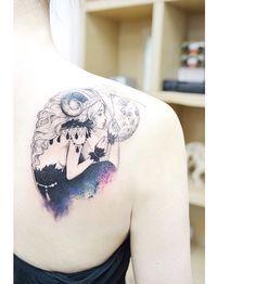 타투이스트 바늘 @tattooist_banul : Aries girl ...Instagram photo   Websta (Webstagram)