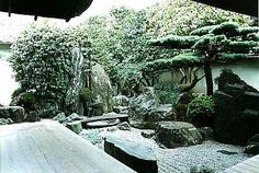 Daisenin Garden of Daitokuji Temple in Kyoto, the Dry Landscape garden at the peak of its design,   built in Muromachi period (15th and eary 16th Centuries).