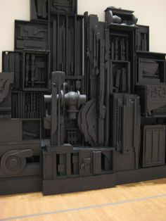 oh man, i LOVE louise nevelson. Abstract Sculpture, Sculpture Art, Louise Nevelson, Still Life Artists, Claes Oldenburg, Collage, Cardboard Art, Ceramics Projects, Famous Art