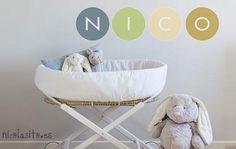 Vinilos para bebés ideales de Nicolasito