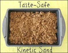 Taste-Safe Kinetic Sand - House of Burke