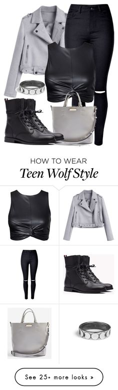 """Derek Inspired Outfit - Teen Wolf"" by clawsandclothes on Polyvore featuring WithChic and Topshop"