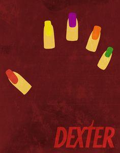 "Dexter Fingernails 11""x14"" Print"