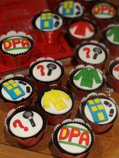 Pães de Mel decorados - Detetives do  Prédio Azul - DPA