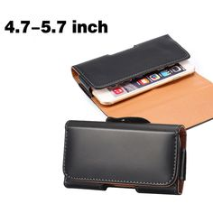 4.7~5.7 inch Belt Clip Pouch Leather Case for iphone 6 6s 7 Mobile Phone Cases for iPhone 7 6 6S plus Vintage Case Universal