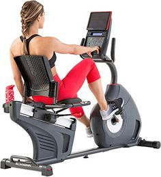 Schwinn 270 Recumbent Exercise Bike Description Who says exercise has to be all pain for gain? The Schwinn 270 Recumbent Exercise Bike adds elements of Best Exercise Bike, Upright Exercise Bike, Upright Bike, Exercise Bike Reviews, Physical Exercise, Bike Prices, Bad Knees, Bike Brands, Sport