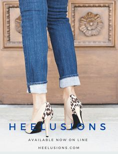 Take your look to the next level ~  Totally innovative fashion accessories that add design details to transform the look of almost any heeled shoes  °•°•°•°•°•°•°•°•° Basic color heels become a personal style statement ~  Now available on line  www.heelusions.com
