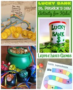 Leprechaun Games (Collection of Creative Ideas & Free Printables)