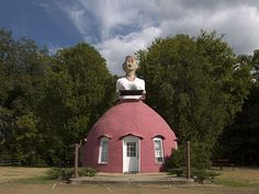 10 Quirky Landmarks of the South: Mammy's Cupboard Natchez, Mississippi