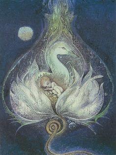"""""""Cosmic Goose"""" par Susan Seddon Boulet"""