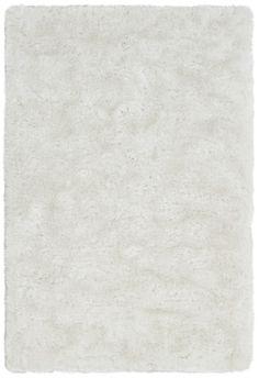 Zoro Shag Rug, White