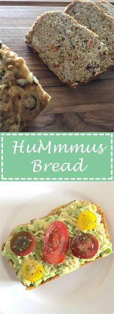 HuMmmus Bread - one whole cup of hummus goes into this bad boy ! To see what else goes into this insanely easy bread recipe, visit the blog - link in bio! #huMmmusbread #hummus #bread #homemade #easy #delicious #cookcleancreate #almonds #toastedalmonds #carrot #shreddedcarrot #hummusbread