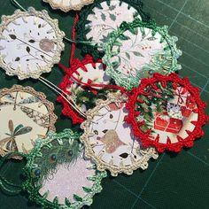 Ravelry: Thundymac's Christmas card ornaments