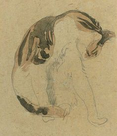 Gwen John Study of a Cat 20th century