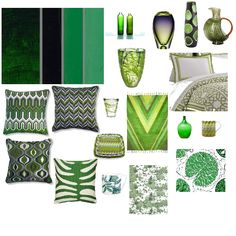 Emerald green - the color of 2013...add this color to your home with accents:  pillows, vases, bedding...