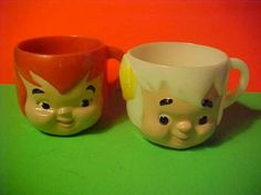 Pebbles & Bam Bam Cups                                  I had BamBam. Loved that cup.