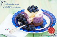 The Miss Tools: Cheesecake-mini Mirtilli e Limone - Little Blueberries Lemon Cheesecakes