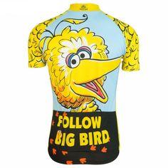 Big Bird Sesame Street Cycling Jersey