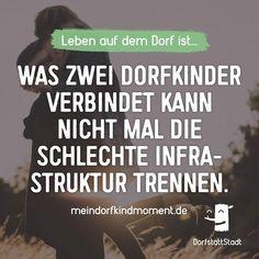Zur Not laufe ich zu dir wenn nichts mehr fährt - http://ift.tt/2kOWHKt - #dorfkindmoment #dorfstattstadt