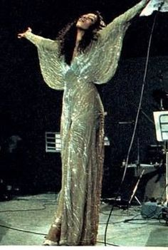 Donna Summer in concert, Europe, 1977