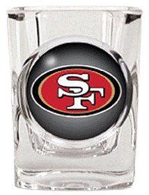 San Francisco 49ers Square Shot Glass - Disclosure: Affiliate Link