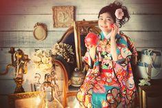 七五三 七歳 Kimono gilr (753)