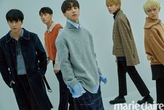 Photo )) Highlight x 'Marie Claire' Korea Nov. Lee Gikwang, Yoon Doo Joon, Yoseob, Marie Claire, Boy Bands, Boy Groups, Beast, Highlights, Korea