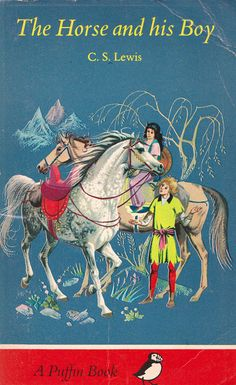 The Horse and His Boy by C.S. Lewis. This title was the fifth in the Chronicles of Narnia set to be published. Illustrated by Pauline Baynes