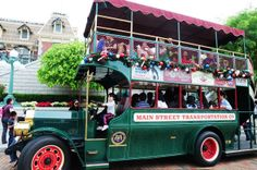 Cruise around with the Main Street Transport Cars at  HK Disneyland