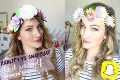 Hello mes chatons ! Aujourd'hui je vous propose un DIY inspiré d'un filtre snapchat : la couronne de fleurs en papier ! Estivale et facile à réaliser !