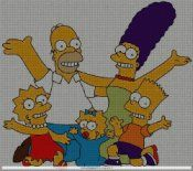 The Simpsons (6 charts)  To get the chart, click on the picture, then click on the first line under the photo