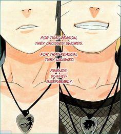 Naruto and Sasuke BFFs!!