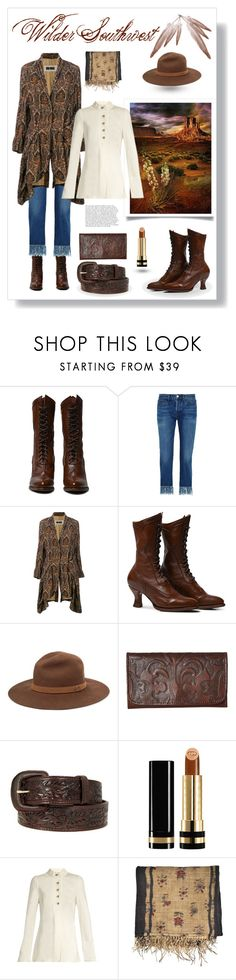 """Southwest Neo-Victorian"" by wildersouthwest ❤ liked on Polyvore featuring 3x1, Uma Wang, rag & bone, American West, Gucci and Proenza Schouler"