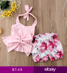View our wide collection of cute newborn baby girl dresses including rompers, swim suites, night suites, jumpsuits & more. Buy clothes for your baby girl now! Baby Girl Bows, Baby Girl Dresses, Baby Girl Newborn, Baby Girls, Baby Baby, Fashion Kids, Baby Girl Fashion, Baby Outfits, Kids Outfits