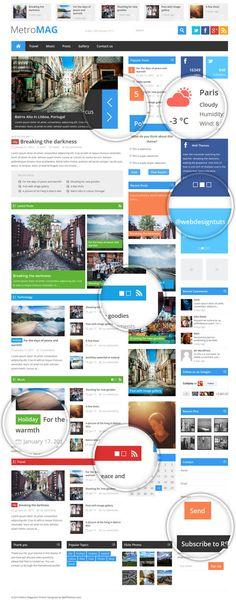 Best WordPress Magazine Themes of 2013 from OnWPThemes - a beautiful wordpress theme.