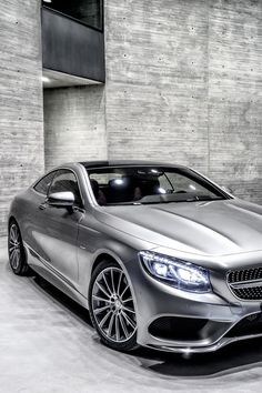 Mercedes Benz S Class Coupe Ditches Leds For Swarovski Crystals