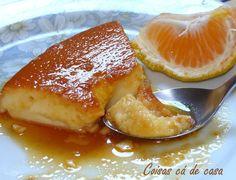 Coisas cá de casa: Pudim de tangerina