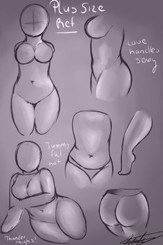 Body Studies ( plus size women ) by GingerQuin