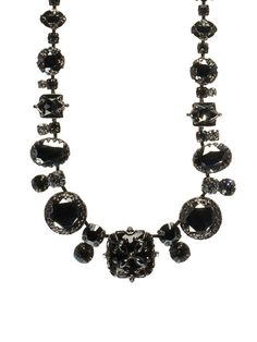 Royal gem necklace in Midnight Moon by Sorrelli