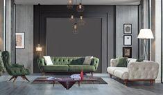 Reclining Sofa, Decorating Blogs, Sofa Set, Recliner, Armchair, House Design, Living Room, Furniture, Home Decor